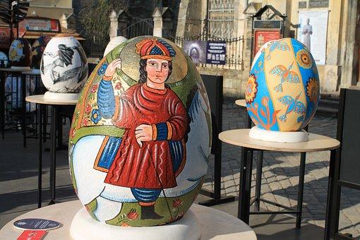 Easter Eggs, Easter, Pysanka, Christ Is Risen