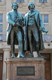 Goethe, Schiller, Weimar, Johann Wolfgang Von Goethe