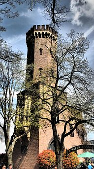 Architecture, Tree, Old, Gothic, Building, Palace