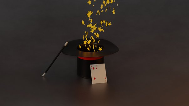 Magic, Hat, Magical, Trick, Magician, Illusion
