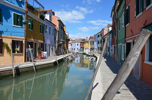 Canal, Water, Architecture, Gondola, Travel, House