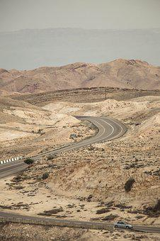 Desert, Landscape, Travel, Road, Dry, Nature, Sand