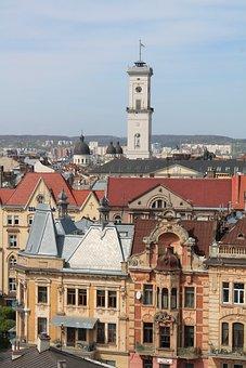 Architecture, Old, Megalopolis, Tower, Travel, Ukraine