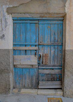 Door, Architecture, Wood, House, Wall, Old, Wooden