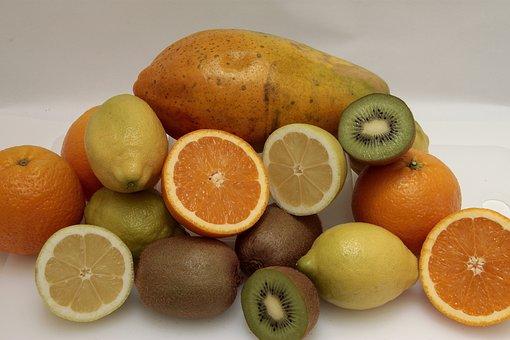 Fruit, Food, Healthy, Bless You, Lemon, Fruits, Papaya