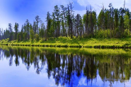 River, Peleduy, Yakutia, Siberia