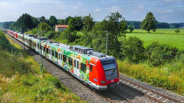 Race Track, Transport System, Railway Line, Travel