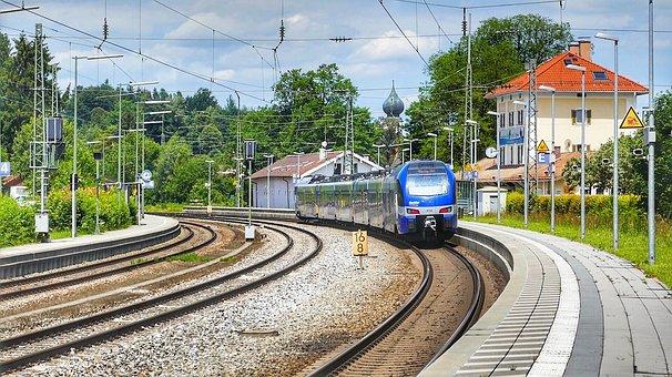 Train, Railway, Railway Line