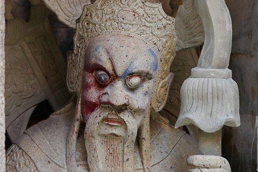 Buddha, Protectors, Sculpture, Art, Statue, Religion