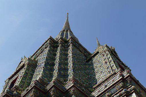 Architecture, Religion, Wat Pho, Temple, Thailand