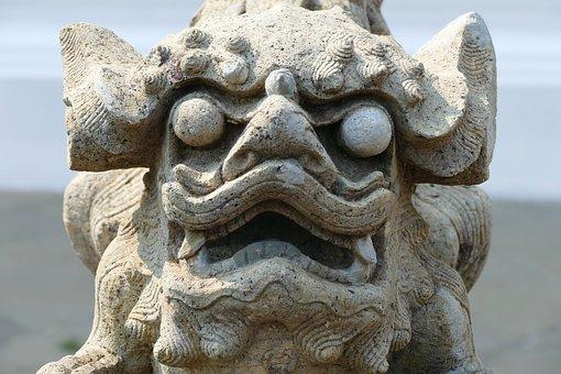 Sculpture, Statue, Nature, Travel, Animal, Wat