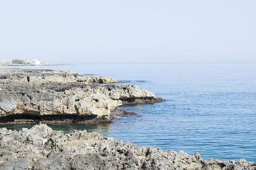 Nature, Sky, Waters, Outdoors, Sea, Sand, Panoramic