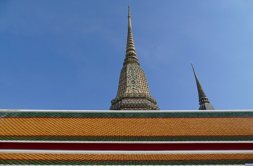 Sky, Travel, Buddha, Temple, Religion, Wat Pho