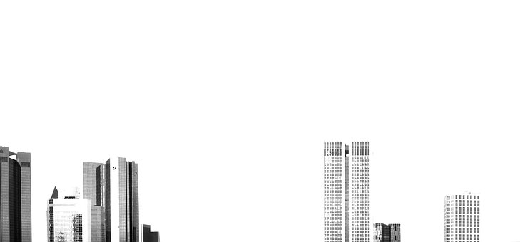 Isolated, Steel, Architecture, Glass, Skyline
