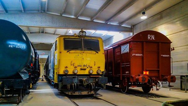 Train, Transport, Railway Line, To Train, Station
