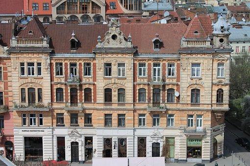 Architecture, Old House, City Centre, Ukraine