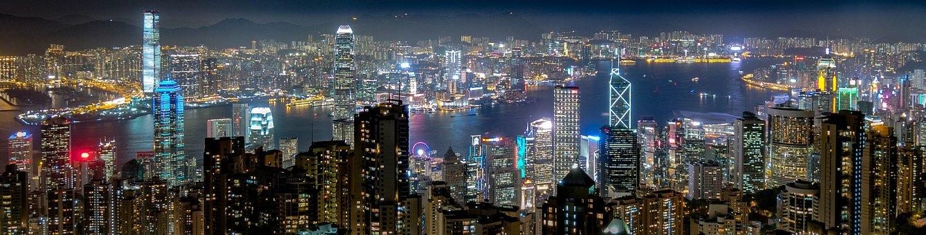 Panorama, Panoramic Image, City, Travel, Urban