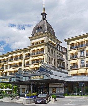 Interlaken, Grand Hotel, Victoria Jungfrau