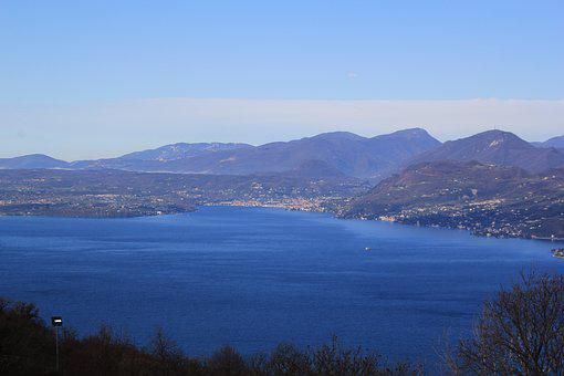Waters, Sea, Coast, Nature, Panorama, Garda, Water