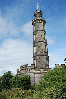 Architecture, Tower, Old, Travel, Sky, Edinburgh