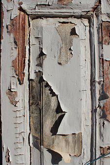 Old, Wood, Dirty, Architecture, Broken, Peeling, Paint