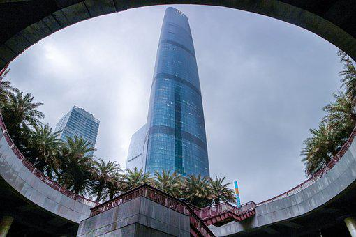 Building, Sky, Modern