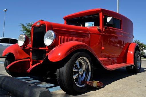 Restored, Classic, Chevrolet, Car, Vehicle
