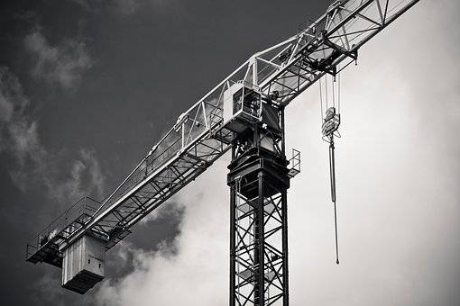 Industry, Crane, Machine, Sky, Construction Machine