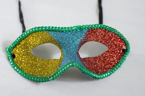 Venetian, Fun, Isolated, Fashion, Mask, Creativity