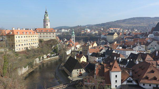 Czech Krumlov, Castle, Unesco, Czech Republic, History