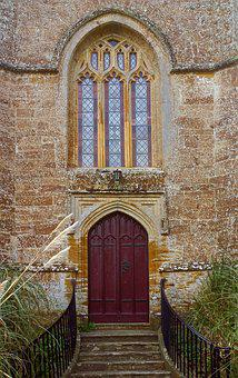 Architecture, Door, Gothic, Doorway, Entrance, Old