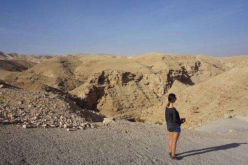 Desert, Sand, Landscape, Nature, Dry, Jordan, Petra
