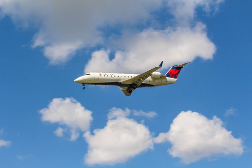 Flight, Sky, Airplane, Air, Flying