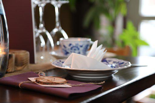 Table, Tableware, Food, Silver Cutlery, Cover