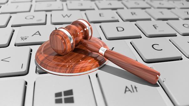 Cyber, Law, Legal, Internet, Gavel