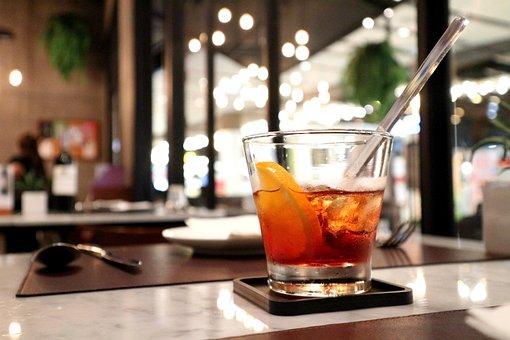 Beverage, Cafe, Restaurant, Glass, Drink, Caffeine, Ice