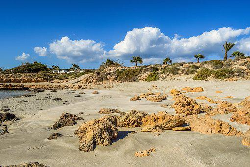 Beach, Sand, Nature, Sky, Clouds, Scenery, Landscape