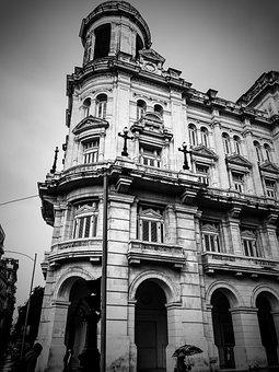 Architecture, Building, Travel, City, Old, Havana, Cuba