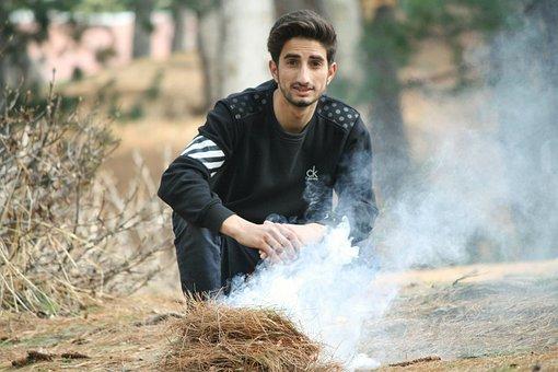 Outdoors, Nature, Summer, Portrait, Man, Kashmir Boys