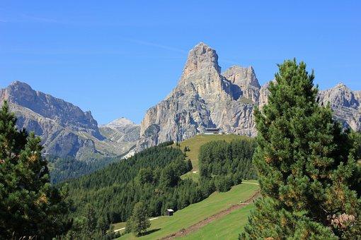 Mountain, Nature, Landscape, Travel, Sky, Panorama