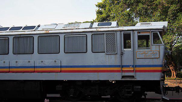 Train, Railway, Locomotive, Transportation System