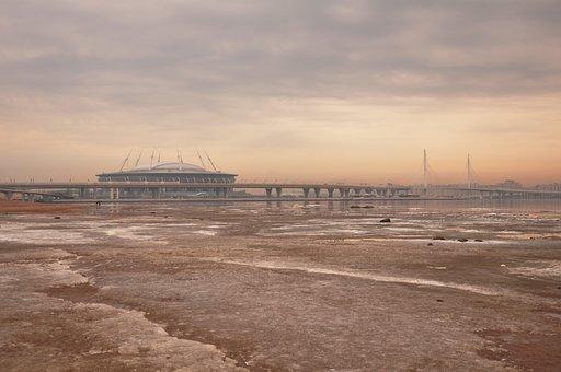 Water, Beach, Sea, Sand, Sky, Sibur Arena