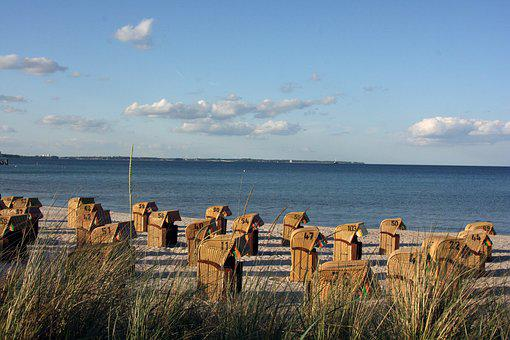 Sky, Nature, Sea, Waters, Coast, Baltic Sea, Beach