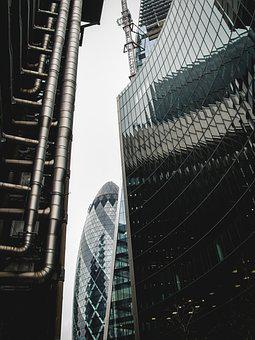 Architecture, City, Skyscraper, Building, Business