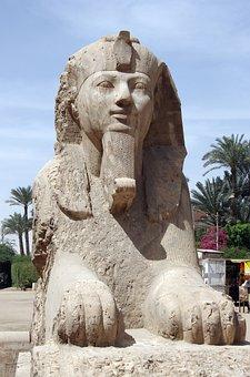 Egypt, Memphis, Sphynx, Sculpture, Statue, Travel, Art