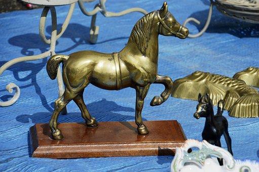 Cavalry, Sculpture, Bronze, Horse, Horses, Statue