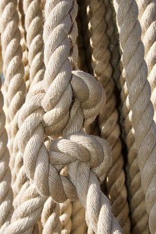 Rope, Knot, Cordage, Nautical, String