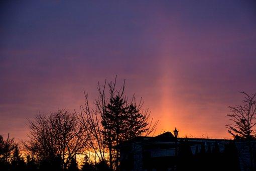 Sunrise, Dawn, Nature, Dusk, Sun