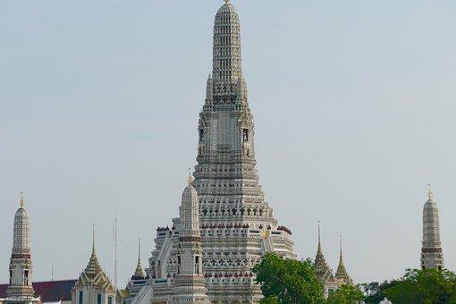 Wat Arun, Bangkok, Buddhism, Stupa, Temple, Thailand