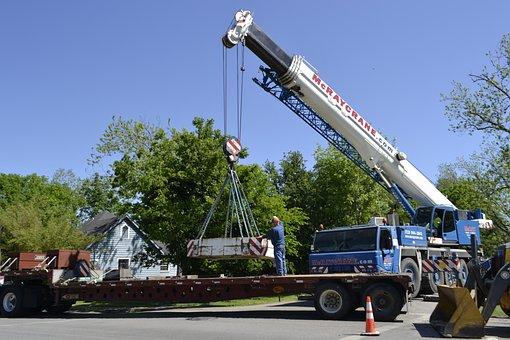 Crane, Machine, Tractor, Transportation System, Vehicle